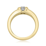 1 ct Round Solitaire Yellow Gold Engagement Ring (SO29-YG)