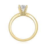 1 ct Round Solitaire Yellow Gold Engagement Ring (SO21-YG)