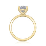 1.50 ct Round Gabriel Solitaire Yellow Gold Engagement Ring (ER14982-150-YG)