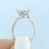 1.50 ct Round 6-Prong Solitaire Yellow Gold Engagement Ring (EV117-YG)
