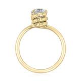 1 ct Danhov Abbraccio Yellow Gold Engagement Ring  (AE136-YG)