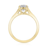 1 ct Danhov Classico Yellow Gold Engagement Ring  (CL141-YG)