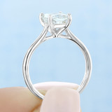 1 ct Radiant Cut Solitaire Yellow Gold Engagement Ring (SO71-YG)