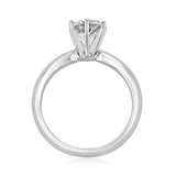 1 ct Round 6-Prong Solitaire Platinum Engagement Ring (SO44-PL)