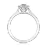 1 ct Danhov Classico 6-Prong Platinum Engagement Ring  (CL117-PL)