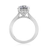 2.50 ct Round Solitaire Platinum Engagement Ring (FG87-250-PL)