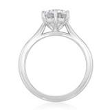 1.50 ct Round 6-Prong Solitaire Platinum Engagement Ring (EV117-PL)