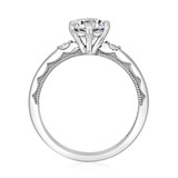 1 ct Simply Tacori Platinum Engagement Ring (56-2RD65-PL)