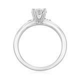 .90 ct Round Solitaire Platinum Engagement Ring (2005232-PL)