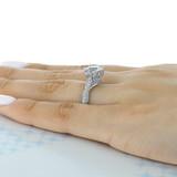 2.50 ct Tacori RoyalT Platinum Engagement Ring (HT2604RD85)