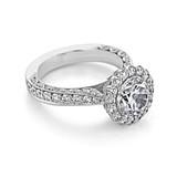 2.50 ct Tacori RoyalT Platinum Engagement Ring (HT2605RD85)