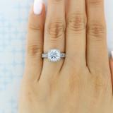2.50 ct Tacori RoyalT Platinum Engagement Ring (HT2607RD85)