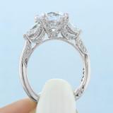 2.50 ct Tacori RoyalT Platinum Engagement Ring (HT2628RD85)