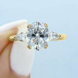2.50 ct Tacori RoyalT Yellow Gold Engagement Ring (HT2628OV10X8Y)
