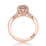 1 ct Tacori Dantela Rose Gold Engagement Ring (2620RDSMPPK)