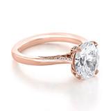 2.50 ct Tacori RoyalT Rose Gold Engagement Ring (HT2625OV10X8)