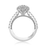 1 ct Tacori Full Bloom White Gold Engagement Ring (37-2CU65)