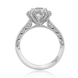 1.25 ct Tacori Blooming Beauties White Gold Engagement Ring (HT2522RD7)