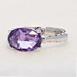 Gemma Bloom Amethyst Fashion Ring (SR13901)