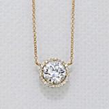 Tacori Diamond Bloom Moissanite Fashion Necklace (FP6707Y)