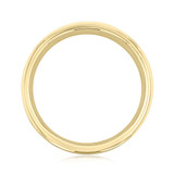 Signature Yellow Gold Men's Wedding Band (WB516)