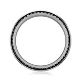 Signature Black Rhodium Men's Wedding Band (WB525)
