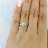 1.00 Ct. Round Moissanite Solitaire Engagement Ring (SO53-M)