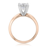 14K Rose Gold Proposal Ring (SO38)