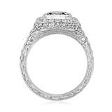 Halo Pavé Engagement Ring (EN60)