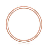 Signature Rose Gold Men's Wedding Band (WB483)