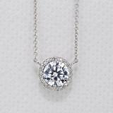 Tacori Dantela Moissanite Fashion Necklace (FP67065-M)