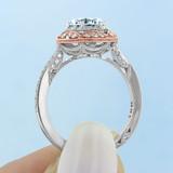 Tacori Crescent Chandelier Engagement Ring (HT2570RD7)