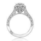 Tacori Petite Crescent Engagement Ring (HT2571RD7)