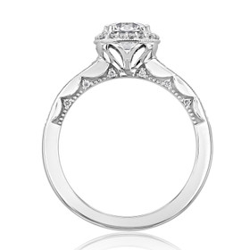 Tacori Coastal Crescent Moissanite Engagement Ring (P103CU6FW-M)
