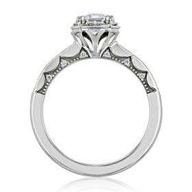 Tacori Coastal Crescent Moissanite Engagement Ring (P103EC7X5FW-M)