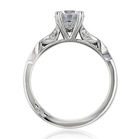 Tacori Ribbon Moissanite Engagement Ring (2573SMRD65-M)