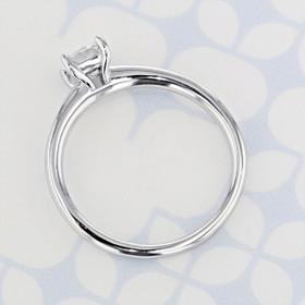 Solitaire Princess Shape Diamond Engagement Ring (2006420)