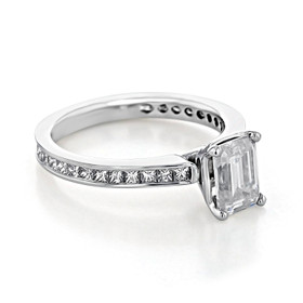 Channel-Set Engagement Ring (CR117)