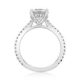 Micro-Prong Engagement Ring (FG88)