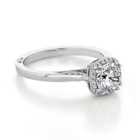 Tacori Dantela Engagement Ring (2620RDSM)