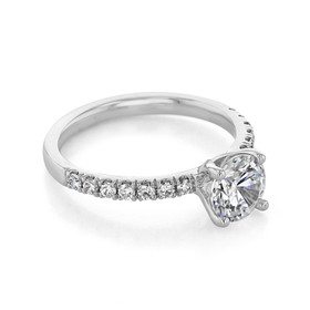 evertrue Micro-Prong Engagement Ring (EV19-2)