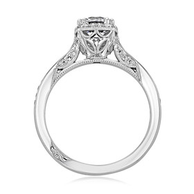 Tacori Dantela Engagement Ring (2620RDPTP)