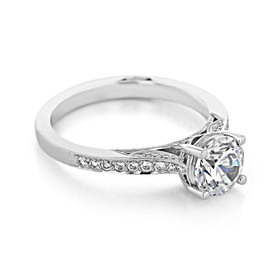 Tacori Dantela Engagement Ring (2638RDP65)