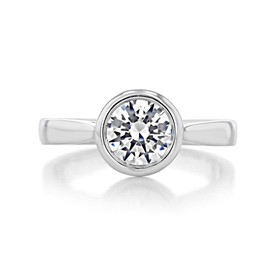 Solitaire Engagement Ring (SO49)