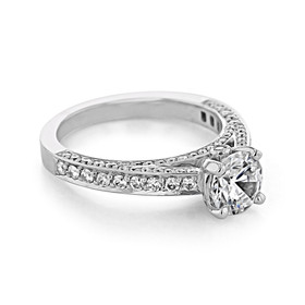Pavé Engagement Ring (CR171)