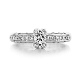 Pavé Engagement Ring (AG40)