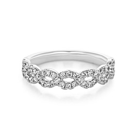 Infinity Micro-Prong Wedding Band (AN7645)