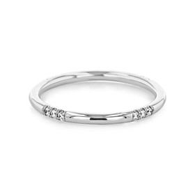 Micro-Prong Wedding Band (CB103)