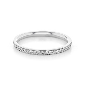 Pavé Wedding Band (CJ113)