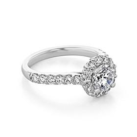 Halo Engagement Ring (FG475)